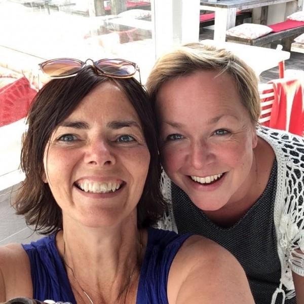 Simone Busscher en Petra ter Keurs